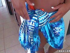 Black bikini girl Tori Taylor with Big boobs