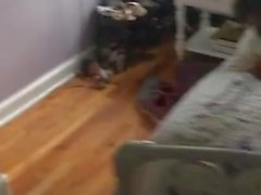 Husband films his wife fucked