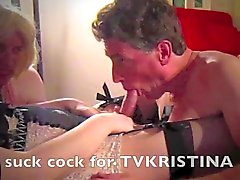 TVKRISTINA makes you suck cock