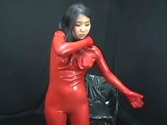 Japanese Latex Catsuit Sack