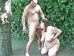 BBW Tiger Gobbles Down A Fat Jizz Load