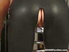 BDSM porn sex tape where female slave part5