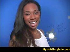 Gloryhole interracial blowjob 18