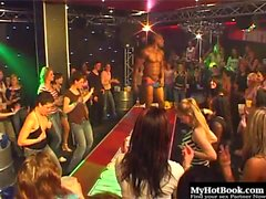 When women get to see male strippers in action anything...