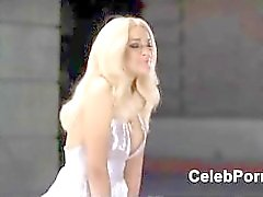 Lindsay Lohan panties upskirt movie scenes