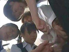 Japanska CFNM HJ - Censurerat