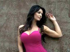 Denise Milani Rock Wall - non nude