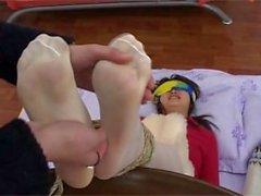Chinese Nylon Tickling 2