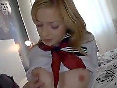 Schoolgirl Abigaile Johnson