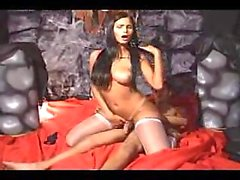 Hot Patricia in mad Halloween sex