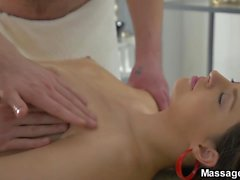 Massage X - Gabriella Costa - Double massage and double fuck