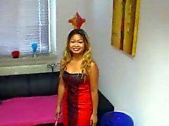 seksikäs thai tyttö vittuile hänen itsensä ( makea Saksan likainen puhua )