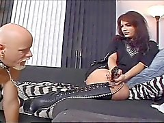 Amateur sex movie with two naughty slut and a old man
