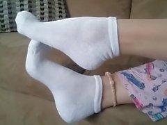 Blanc socquettes POV