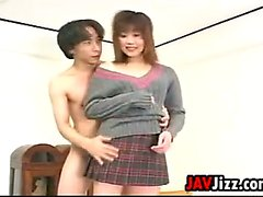 Japanese Girl With A Shaved Pussy Uncensored
