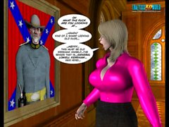 3D Comic: Shadows of the Past. Episode 1