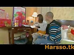 Russian teen Alena banged