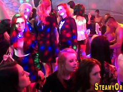 Cfnm partying teens tug