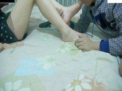 Asian Foot worship