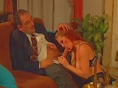Busty mature prostitute gets her sweet ass fingered by nasty gentleman
