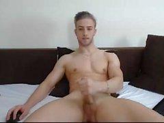 Handsome Romanian Boy Cums, Big Cock, Big Bubble Ass