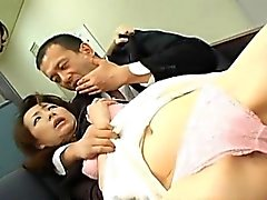 Miki and mom have hairy cracks and mouths fucked by men