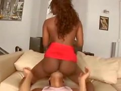 Hot Black Girl Fucks Moroccan Cock