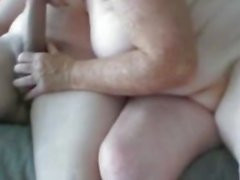 OmaGeil Chubby granny sucking big old dick