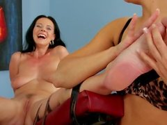 Naked, Tickled & Made to Orgasm Amanda