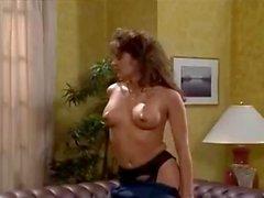 Bionca Nikki Dial Steve Drake in 80s porn girls finger each others shaved pussies