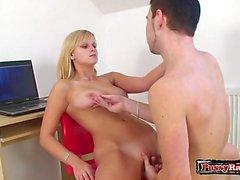 Hot secretary great sex