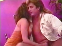 Classic porn with Nikki Dial getting her ass fingered and fucked