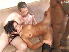 Big tits wife pussyfucking