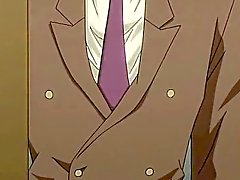 Hottie Hentai Homosexuell ruft vom Rücken arschgefickt