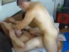 Raunchy cock ass fucking