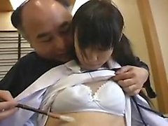 Slutty Japanese Suzuka has a good time fingering an toy