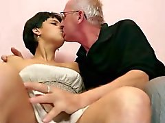 Old Man with Horny Teen BVR