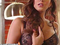 Schwarzen Dessous Sunny Leone