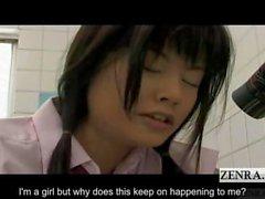 subtitled japanese futanari schoolgirl frantic arousal