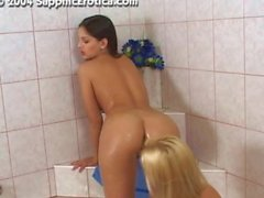 Eve Angel And Monica Sweet In The Bath