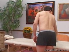 Guy Gets Anal Massage