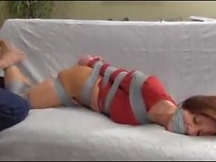 Housewife Bound And Gagged