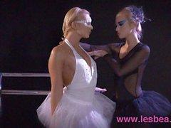Lesbea Halloween Clip young ballerina seduced