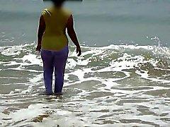 Di Desi Nomi sposa Spiaggia - Bagnate & panno trasparente
