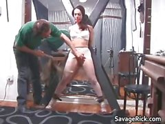 Kinky brunette hoe Brianna gets her tiny part2