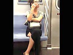 NYC подглядывать метрополитен азиатский