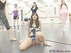Natsumi Horiguchi Asian babe plays sexy part6