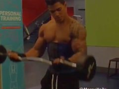 Compilation clips of young Dominican muscle boy Maravilla