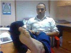 Heterosexuales los pies on webcam # 413