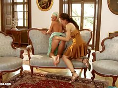 Divan Delights with Andy and Hailee by Sapphic Ero